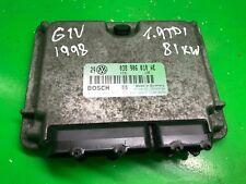 AUDI VW 1,9TDI ENGINE CONTROL UNIT COMPUTER ECU 038906018AE BOSCH 0281001851