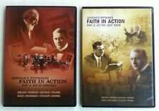 Jehovah Witnesses 2 Dvd set- Faith in Action - parts pt.1 & 2