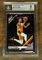 2019-20 PANINI DONRUSS OPTIC KYLE KUZMA PURPLE STARS #80 SP 29/29 ~ BGS 9 MINT