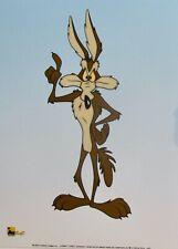 Warner Bros Looney Tunes Wile Coyote Sericel Animation Art Cel