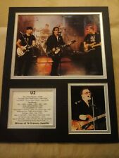 U2 Picture Grammy Award 11x14