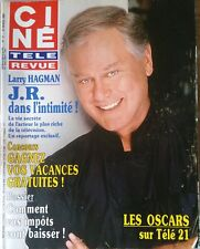 Ciné Télé Revue 23/3/1989; Larry Hagman/ Tom Selleck/ Groupe Europe/ Wyman Jane