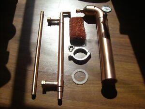 """Beer Keg Kit 2"""" inch Copper Moonshine Still Pot Reflux Distillation Column"""