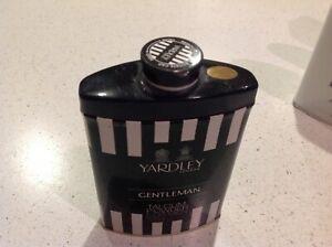 Yardley talcum powder. 100 grams. Gentleman. Unopened tin. Citrus