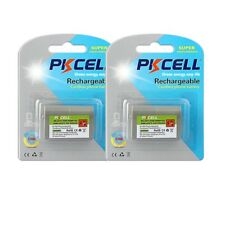 2PK 850mAh 3.6V Cordless Phone Battery for Panasonic HHR-P103 HKX-TGA271 Type 25