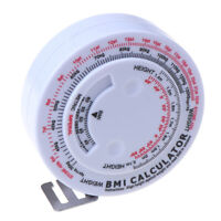 1pcs 150cm Body Retractable Tape For Diet Weight Loss Tape Measur OZ