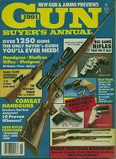GUN BUYER'S ANNUAL 1991 OVER 1,250 GUNS WALTHER NORNICO MOSSBERG BROWNING