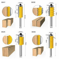 8mm Schaft Router Bit Schlitz Fräser Werkzeug Holzbearbeitung Heiß Fräsen