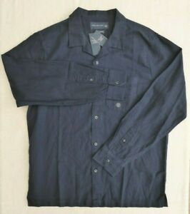 New BNWT Men's Abercrombie & Fitch Linen Shirt - Large - £29.95 & Free Post