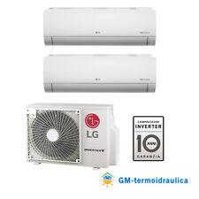 Condizionatore Climatizzatore Inverter LG Libero Dual Split A+++ 7+7 9+9 9+12 15