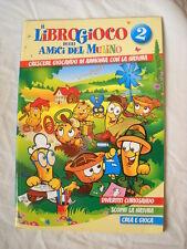 LIBRO GIOCO LIBROGIOCO MULINO BIANCO AMICI DEL MULINO NUMERO 2
