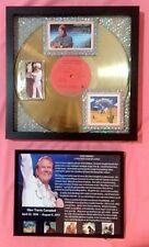 GLEN CAMPBELL  -  Rhinestone Cowboy  GOLD RECORD  1976 Certified with COA & Fram