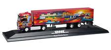 """Herpa 121392 LKW MAN TGA XXL Koffersattelzug """"DHL/Post Truck Bonn"""" Neu"""
