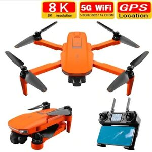 NEW ICAT7 Drone 4K 8K GPS 5G WiFi Two Axis Gimbal Camera  Supports TF Card