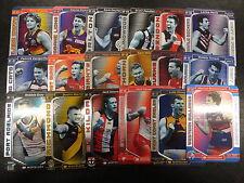 2017 AFL TEAMCOACH BEST & FAIREST SET OF 18 CARDS