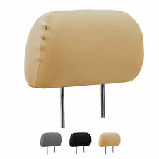Deluxe Leatherette Headrest Cover
