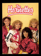 The Hornettes Autogrammkarte Original Signiert ## BC 88716