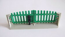 PLAYMOBIL (T2232) FERME - Grand Portail Double Complet pour Clôture 3504 Vintage