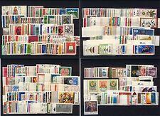 Bund Jahrgänge 1970-1979, komplett, postfrisch, incl. C+D Werte
