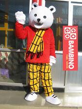Rupert Mascot Costume - The Fancy Dress Bear - Cute Animal Peppa