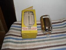 VINTAGE THERMOS PINT REPLACEMENT FILLER.  JARS WITH POLLY RED TOP STOPPER # 52F
