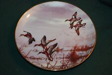 Danbury Mint/Maass Ltd Ed Plate: In To Feed - waterfowl