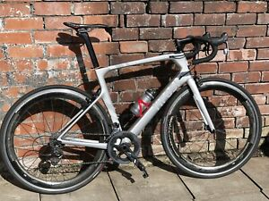 Tifosi Carbon Road Bike with SRAM Force Groupset and ZIPP 60 Wheels (Large 58cm)