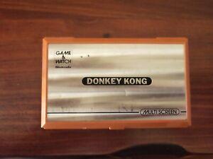 Nintendo Donkey Kong Orange Handheld Console
