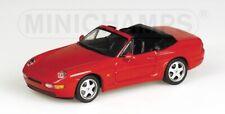 Porsche 968 Cabriolet 1994 Red 1:43 Model 400062330 MINICHAMPS