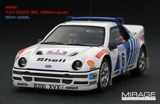 RARE Acropolis Rally HPI #8841 Ford RS200 #6 1986 1/43 Resin Model Pirelli WRC