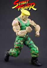 "NECA Street Fighter Guile PVC Action Figure Model 7"" Male Mini Figure"