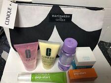 Clinique Skincare & MakeUp Set *NEW* 6 Travel Sizes Items & A Beauty/ MakeUp Bag