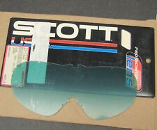NOS Scott Voltage R Gray Lexan Goggle Replacement Lens 09-0344-01-0-GRY 11-7222