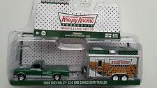 1968 Chevrolet C10 con Krispy Kreme Food Remolque, GREENLIGHT 1:64 Lim. Edición