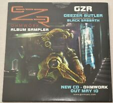 Corrosion of Conformity 'In the Arms of God' & GZR 'Ohmwork' Album Sampler CD