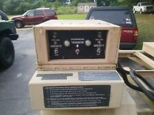 Military Mep 802a 803a 5kw 10kw Generator Synch Transfer Switch Relay Box Ampcable