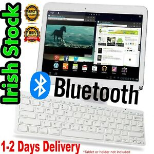White Bluetooth Keyboard Wireless For Mac iPad Windows Android iOS os Quality