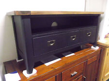 Solid Wood French Country Media Console Tables Stands
