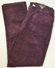 KINGSIZE Mens Big & Tall Corduroy Pant #0910, Burgundy, 64 x 38, NWOT