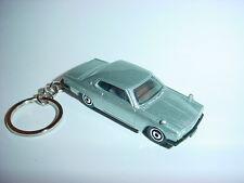 NEW 1971 3D SILVER NISSAN SKYLINE CUSTOM KEYCHAIN CLASSIC nismo FOB gtr 71
