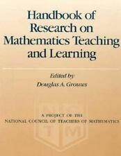 Handbook of Research on Mathematics Teaching and Learning: A Project o-ExLibrary