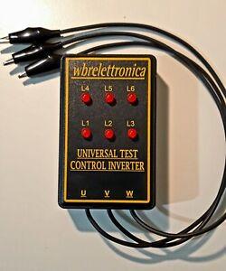 WBR350 UNIVERSAL TESTER PHASE CHECKER  CONTROL GUASTI INVERTER CONDIZIONATORI