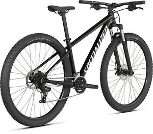 "2021 Specialized Rockhopper 29 Mountain Bike Front Suspension Gloss Tarmac - 18"""