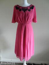 Monsoon dress, size 10, calf length, pink, brand new