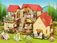 Girls Model Playhouse Childrens Wendy House Furniture Cosy Cottage Home Set Kids