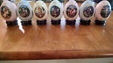 Hummel Eggs Set Of 7, Danbury Mint (Item#EO16)