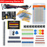 Electronic Starter Kit for Arduino Resistor Buzzer Breadboard Dupont cable LED