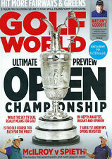 GOLF WORLD HIT MORE FAIRWAYS & GREENS TOM WATSON EXCLUSIVE ST ANDREWS MOMENTS