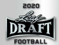 2020 LEAF DRAFT FOOTBALL FACTORY SEALED RETAIL BLASTER BOX PRE-SALE