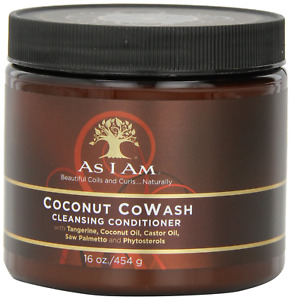 As I Am Coconut Cowash Cleansing Conditioner - 16 ounce - Gentle Daily Cleanser